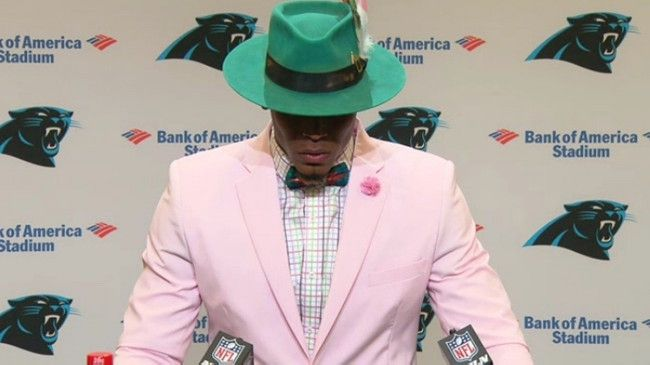 Cam Newton Wore Another Crazy Outfit On Game Day
