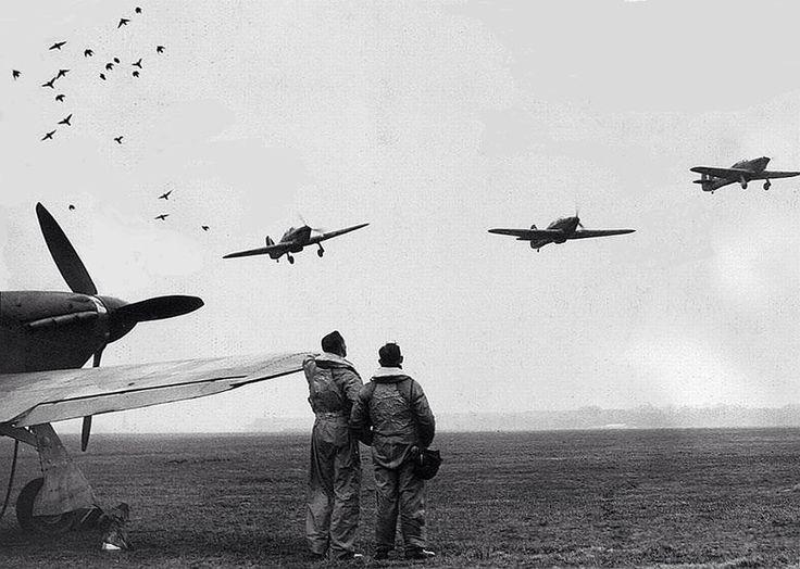 RAF Hurricane sortie - Battle of Britain