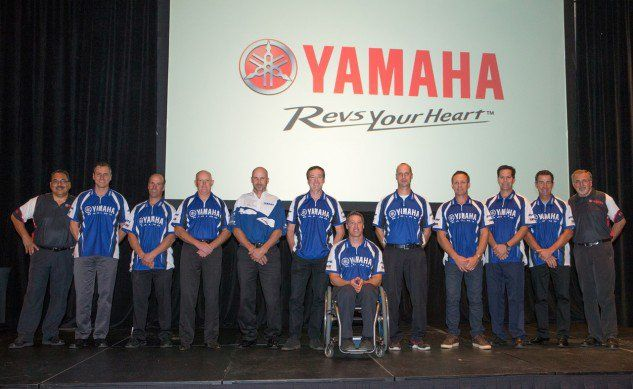 #birmingham Yamaha Motor Corporation, USA, Honors 2016 Wall Of Champions Inductees At AIMExpo  Orlando, FL - October 14, 2016 - On Friday, during a special, invitation-only dealer luncheon held at the AIMExpo in Orlando, FL, Yamaha Motor Corporation, U.S. http://blog.motorcycle.com/2016/10/14/motorcycle-news/yamaha-motor-corporation-u-s-honors-2016-wall-champions-inductees-aimexpo/