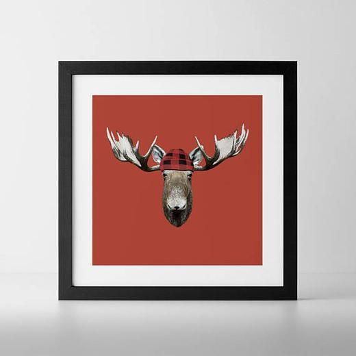 RedBlack Jack Art Print - Hinterland Home