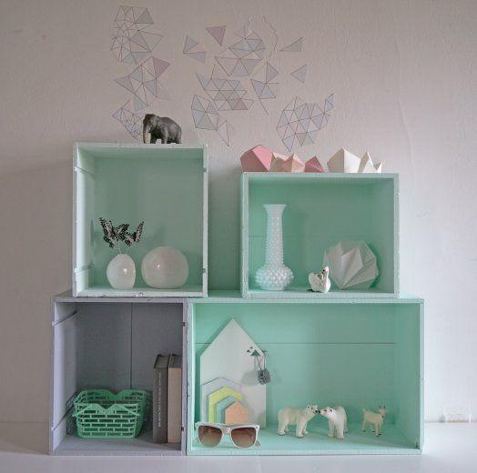 DIY wine boxes by La maison de Loulou blog