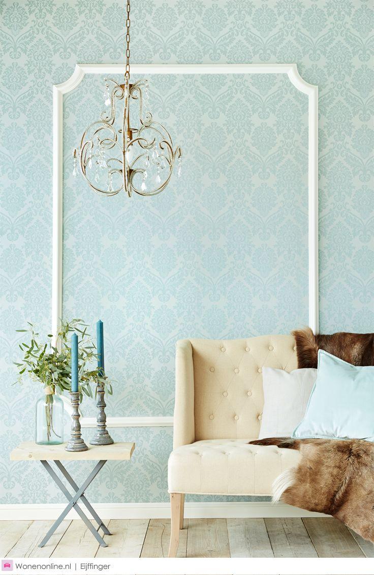 Meer dan 1000 ideeën over streep behang op pinterest   lampen ...