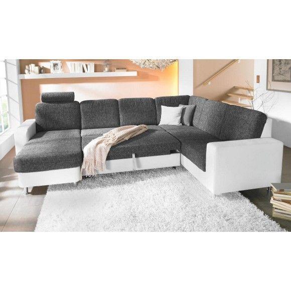 WOHNLANDSCHAFT - Polstermöbel mit Bettfunktion - Polstermöbel ...