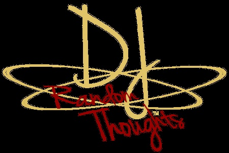 The official DJ's Random Thoughts logo for the DJRT blog.