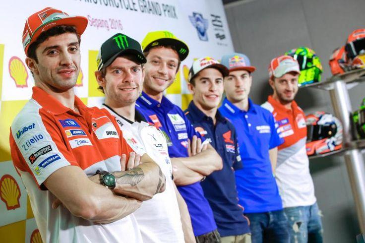 Gran Premio de Malasia MotoGp: La rueda de prensa