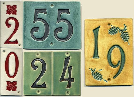 25 best images about mission style on pinterest spanish for Spanish style house numbers