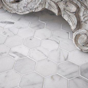Fancy DIY stick on tiles for the bathroom floor. #bathroomfloor #diy #