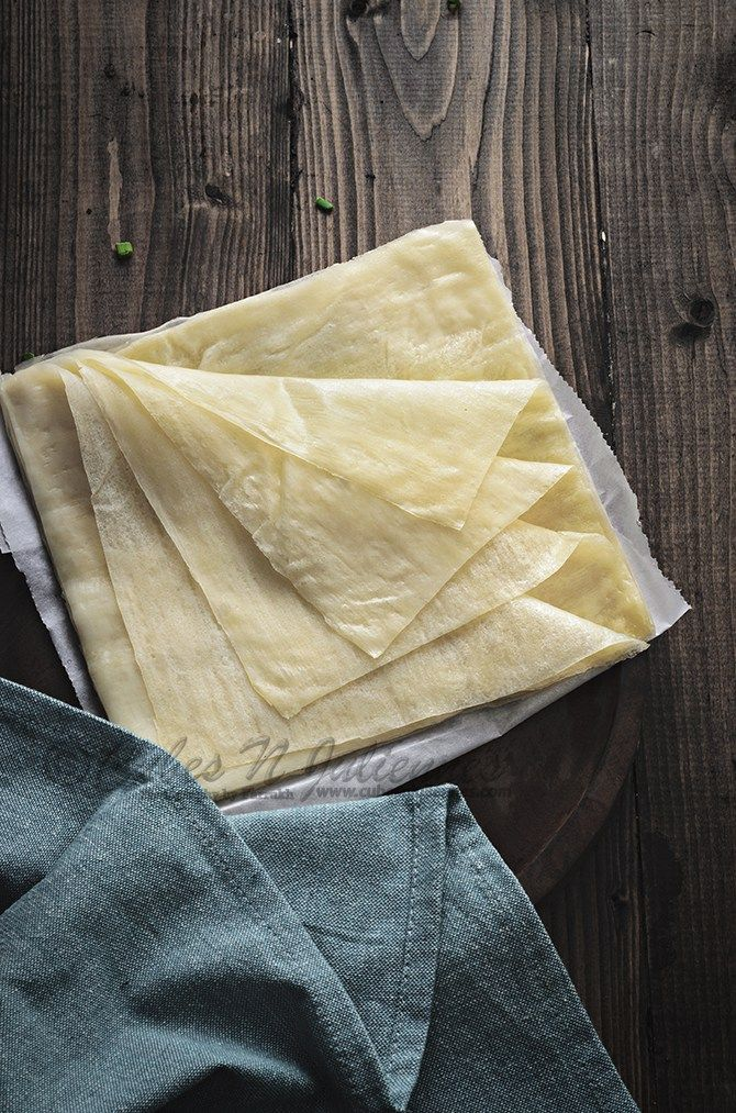 Best homemade Spring Roll Sheet recipe with detailed instructions and important tips and tricks