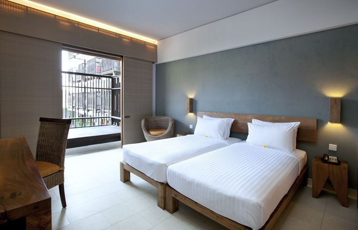 Our Deluxe room at The Oasis Lagoon Sanur, Bali.