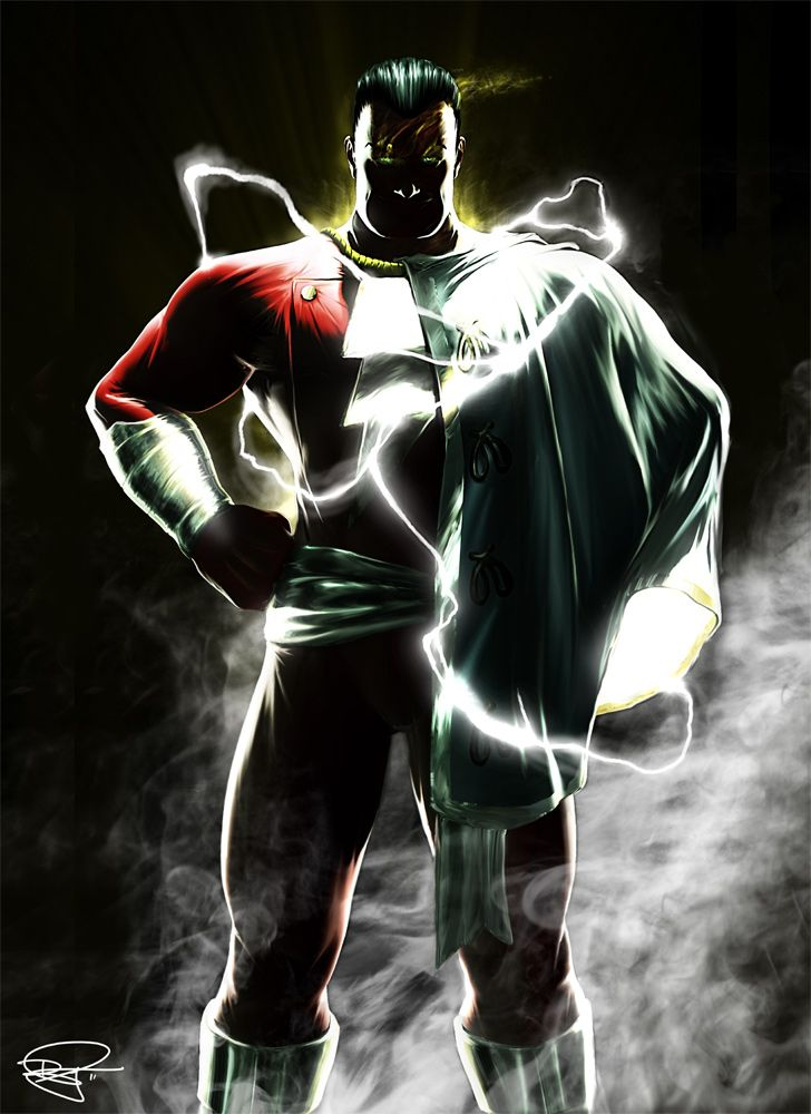 Captain Marvel or SHAZAM as he is going by these days..