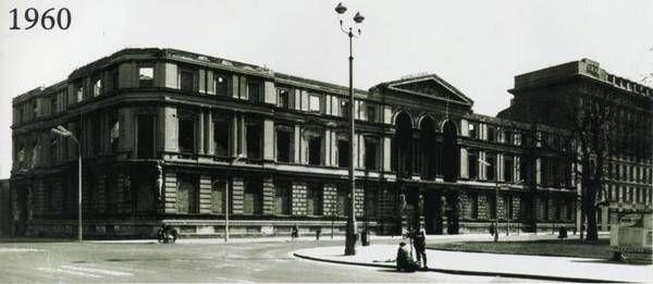 Pałac Kronenberga stan 1960