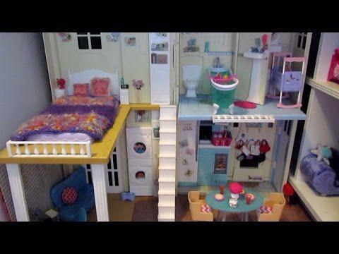 HUGE Barbie House Tour 2016 - YouTube