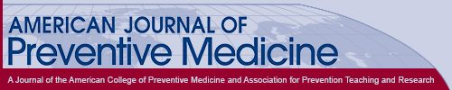 American Journal of Preventive Medicine - Reducing Childhood obesity through US Fed Policy