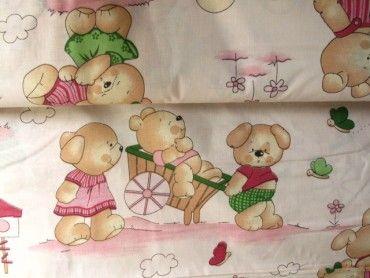 Obliečkovina mackovia/ružová