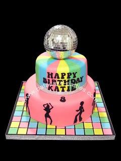 Pat-a-Cake Parties: Disco Cake