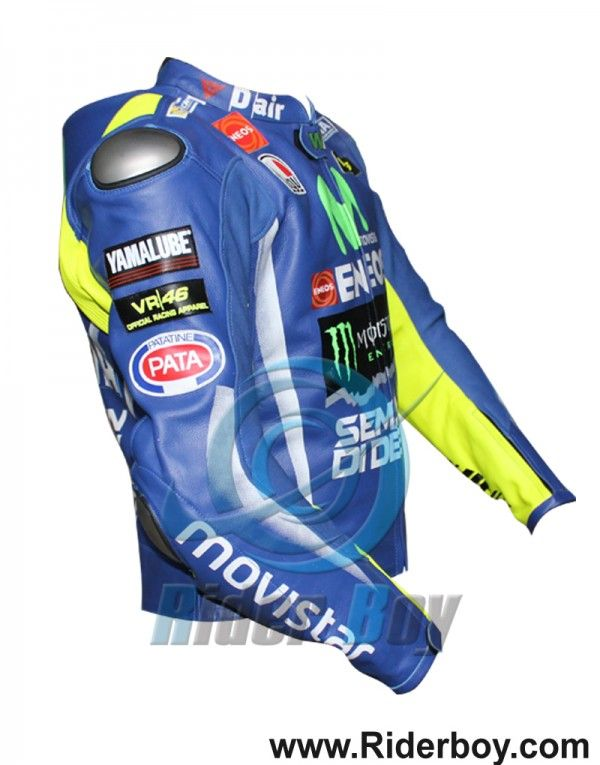 Valentino Rossi Movistar Yamaha Motorcycle Riding Jacket