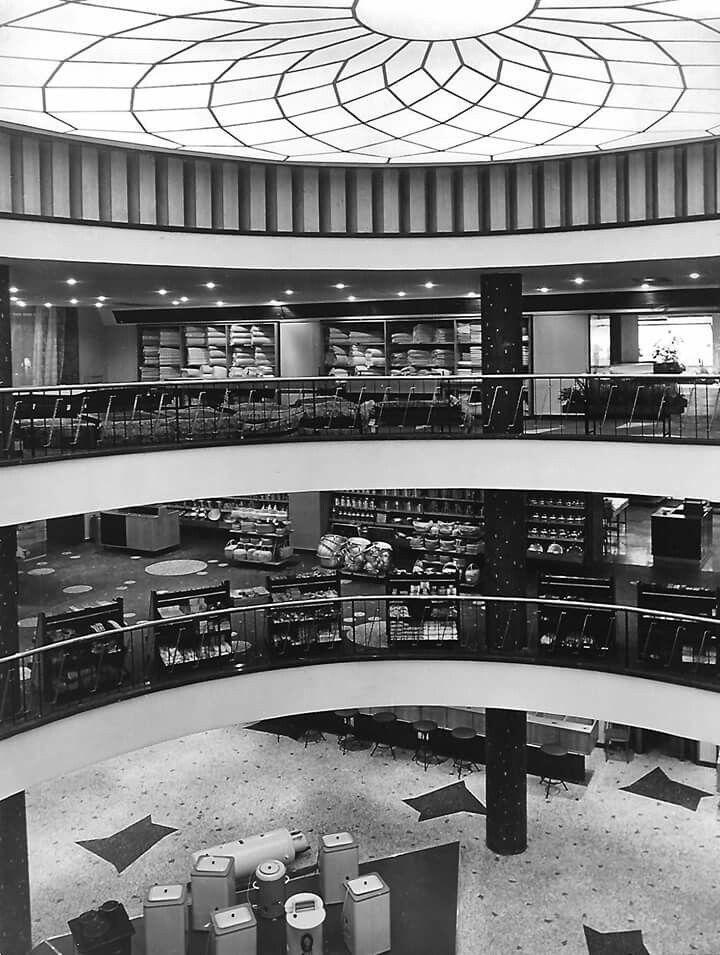 1960-as évek. Otthon áruház.