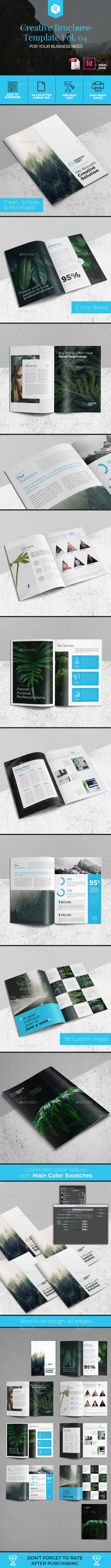 Creative Brochure Template InDesign INDD