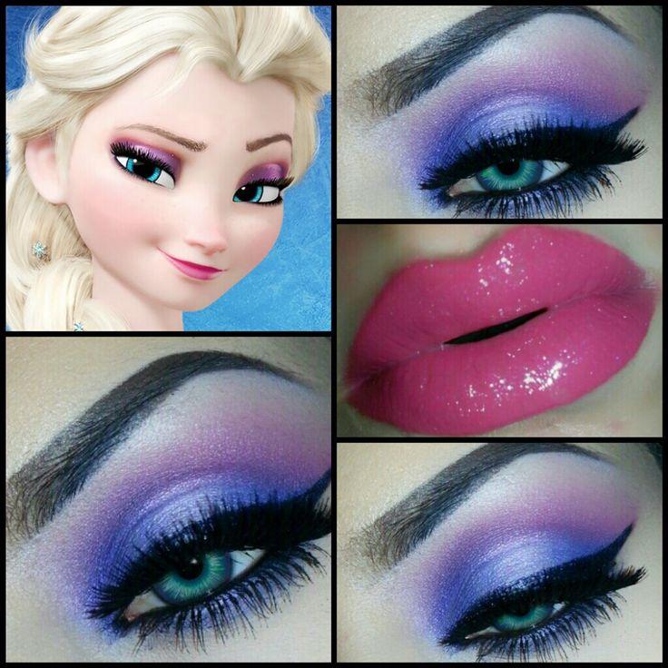 Disney Makeup Tutorials | Look Like Elsa: Disney's Frozen Makeup Tutorial Using Motives!