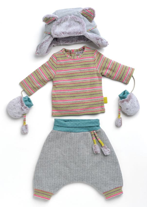 Les Petits Habits - Moulin Roty - Hiver 2014-2015 - Les pachas - mode - enfant - kids - bébé - baby