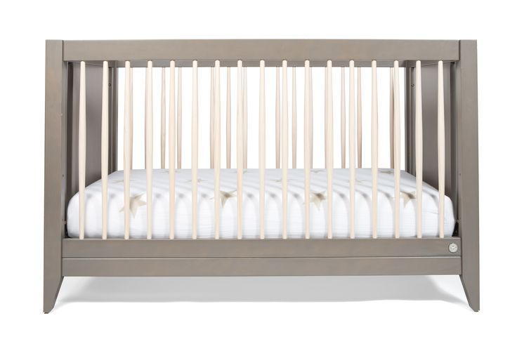Honest 4-in-1 Convertible Crib with Toddler Rail #nontoxic #sustainable #buyonegiveone #BabyWildThing #DreamTeam #PinToWin