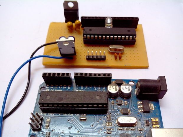 Picture of Build an Arduino