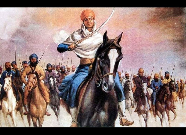 The Fearless Warrior-Saint : Born in Jhabal village (now Amritsar, Punjab in India), Mai Bhago grew up in a time when the 10th guru, Guru Gobind Singh, fought to defend Sikhs against Mughal forces and hill chiefs. During a great siege in 1705, Mai Bhago rallied 40 deserters and led them into battle herself, sword in hand. They died fighting and became known as the Chali Mukte, the Forty Liberated Ones. Afterward, Mai Bhago became the Guru's bodyguard, donning a turban and cross-dressing in…