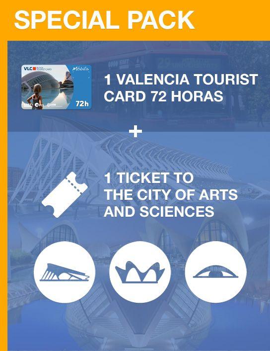 Valencia Tourist Card de 72 horas y Entrada al Oceanogràfic, Museo de las Ciencias y Hemisfèric