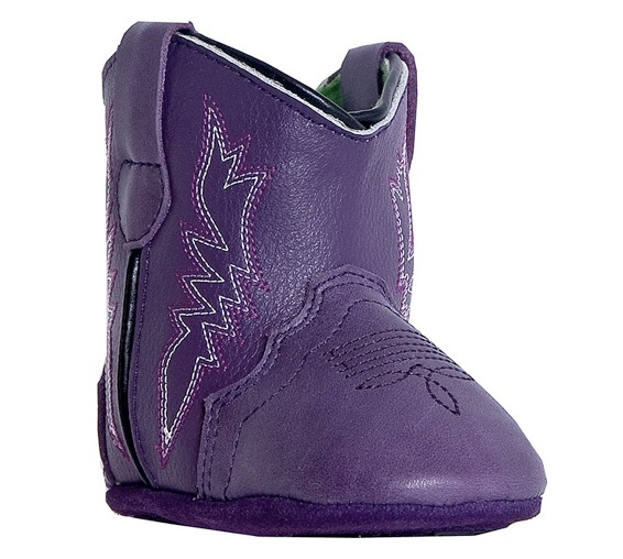 Boot Corral Purple Inlay