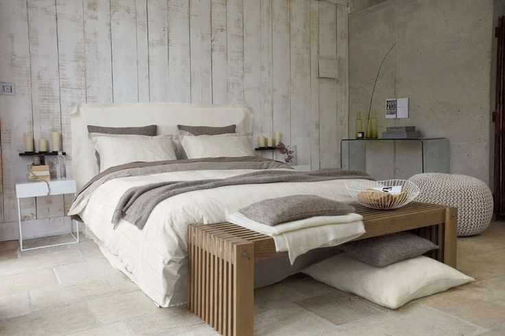 Tête de lit Tacite La redoute - Chambre zen: je m'aménage une chambre zen - aufeminin.com