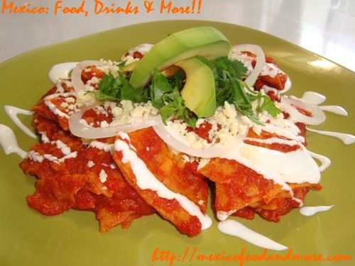 Mexican Red Chilaquiles Recipe – Chilaquiles Rojos