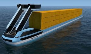 World's first electric container barges to sail from European ports this summer