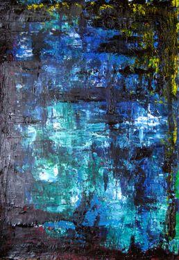 "Saatchi Art Artist Sina Muscarina; Painting, """"M"""" #art sinamuscarina"