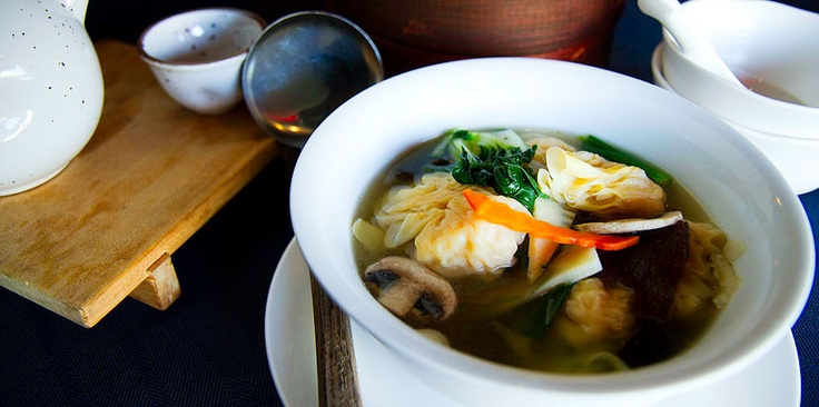 Bao Dim Sum House (Los Angeles, CA) | Shrimp Wonton Soup | ORDER HERE: https://www.orderaheadapp.com/places/bao-dim-sum-house--los-angeles-ca | #delicious #favorite #best #food #chinese