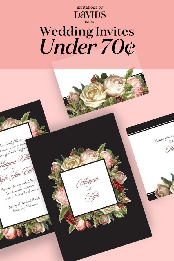 Find The Perfect Wedding Invitation For Your Special Day At An Affordable  Price! | Search · Davids BridalWedding ...