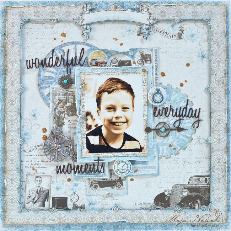 CraftHobby Oliwiaen: Wonderful Everyday Moments. layout 30x30