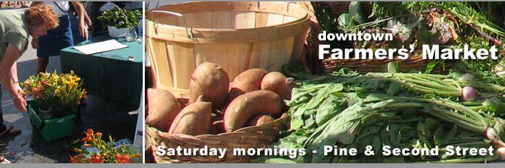 Collingwood, Ontario's farmer's market every Saturday!