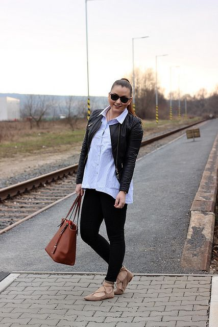 Boyfriend shirt by Francebaby  #modino_sk #modino_style #style #outfit #spring #afternoon #casual