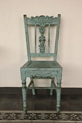 Måla möbler med Vintage Chalk Paint (kalkfärg, kritfärg)