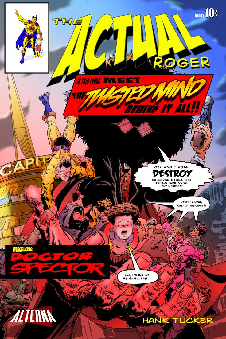 Comic Book Preview: The Actual Roger #4 - Bounding Into Comics