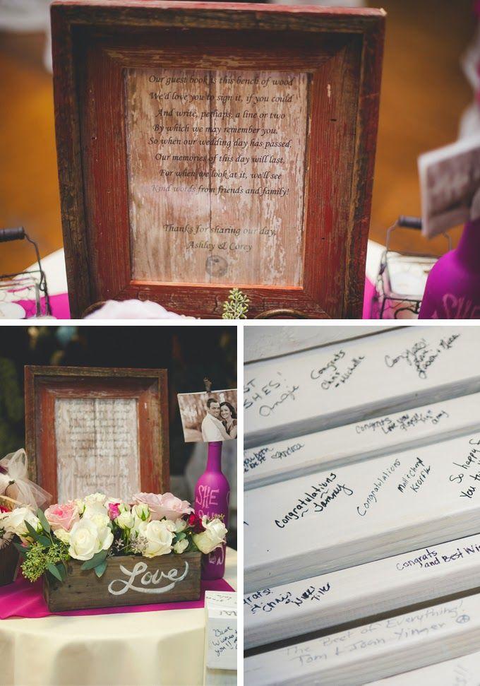 bridal shower keepsake book%0A Rustic Fall Orchard Wedding  Wedding Guest BookDiy