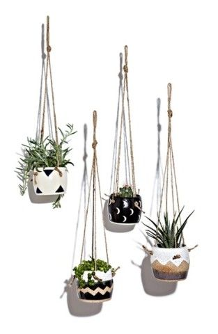Small Spells Hanging Planter with Twine