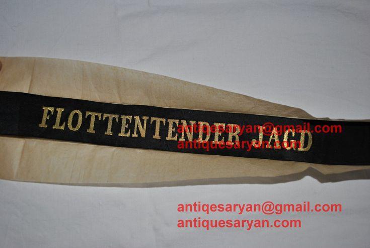 flottentender jagd kriegsmarie capband for sale