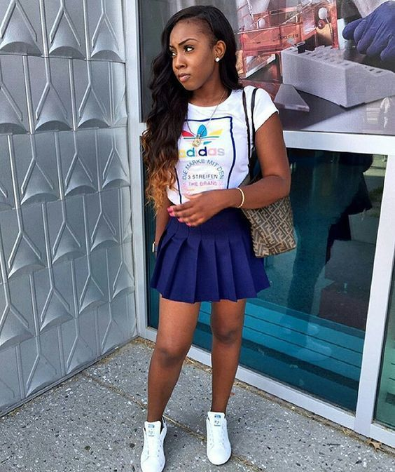 19 Cute Back To School Outfits For High School Students #Highschool #backtoschoo… – School Outfits
