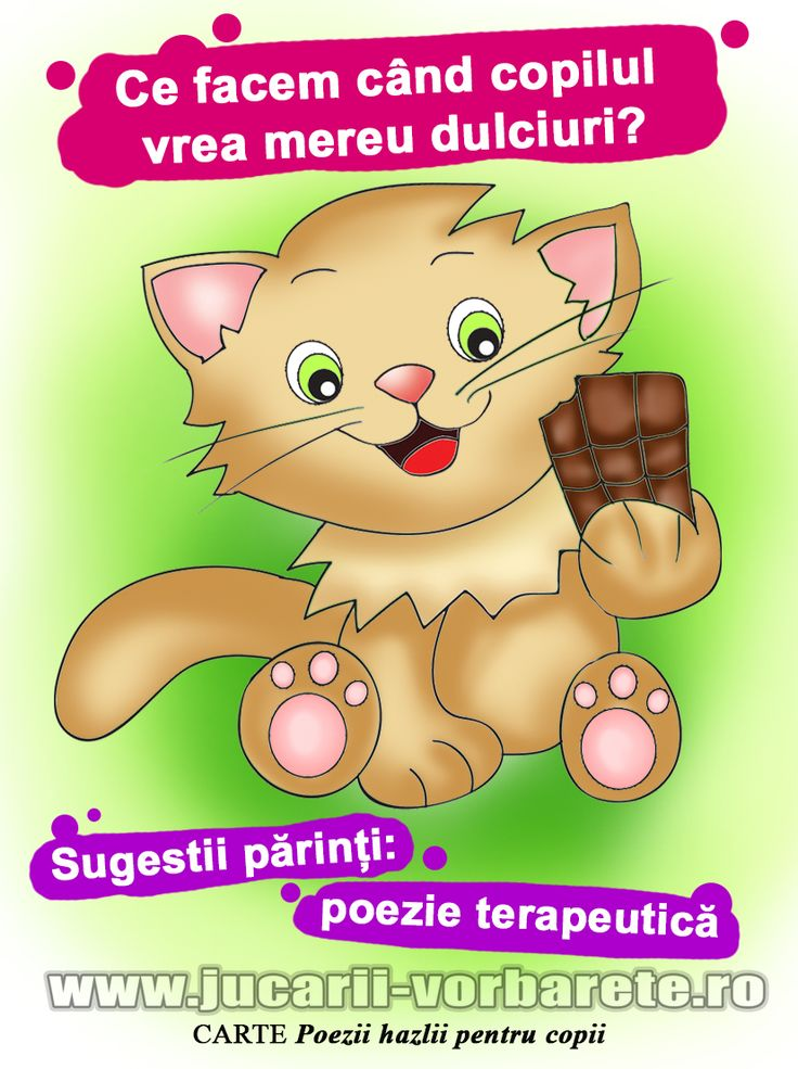 Ce facem cand copilul vrea mereu dulciuri?