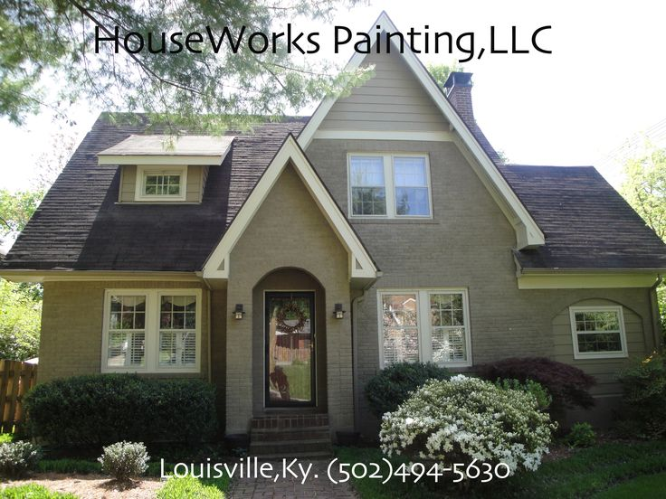 Painting Brick Houses Pictures Painting Houseworks On The Bricks Exterior House Painting