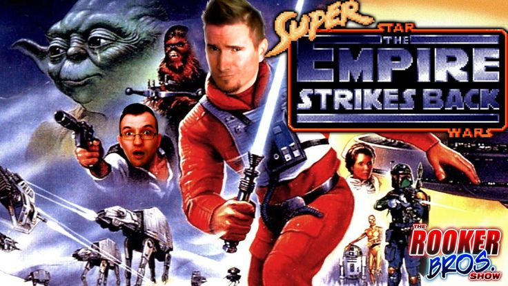 SUPER EMPIRE STRIKES BACK The Midi-chlorian Effect - SNES - The ROOKER Bros. show  EPISODE 14: The ROOKER BROS. join the rebellion and learn the ways of the Force, be-it with an extremely low midi-chlorian count. It's a long and perilous adventure for the brothers as they battle snow Pumbaas, Sub-Zero, metroids, and wife-controlled probe droids. Darth Vader and the Galactic Empire better be ready for these platforming masters....I mean disasters. May the Force be with them!