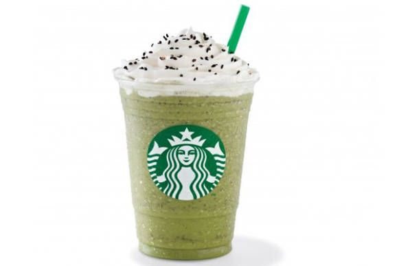 Starbucks frappuccino flavors in other countries: The Red Bean Green Tea Frappuccino: China and Asia Pacific