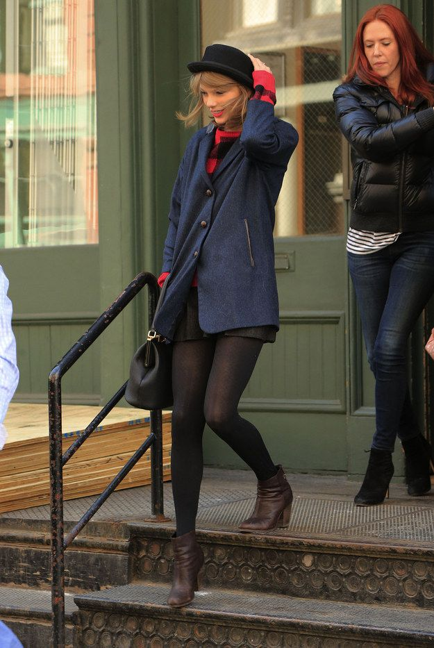March 26, 2014 | The Official Ranking Of Times Taylor Swift Left Her Tribeca Apartment In 2014