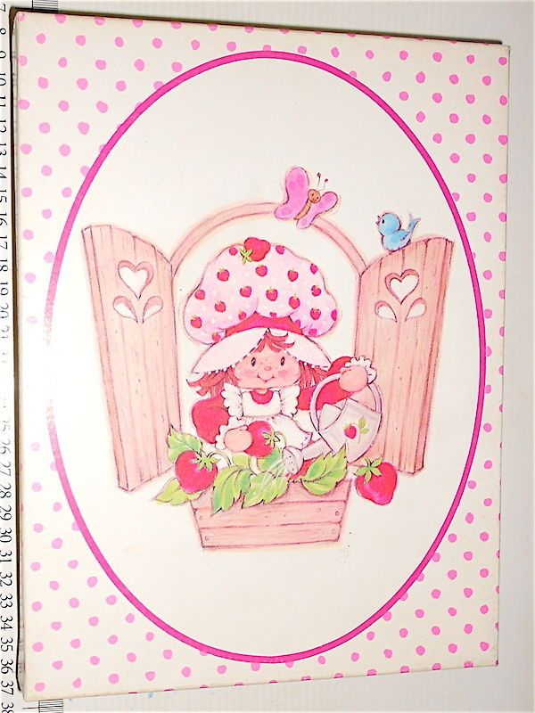 STRAWBERRIE SHORTCAKE Fragolina 70s stationery letter set 20+20 carta lettere
